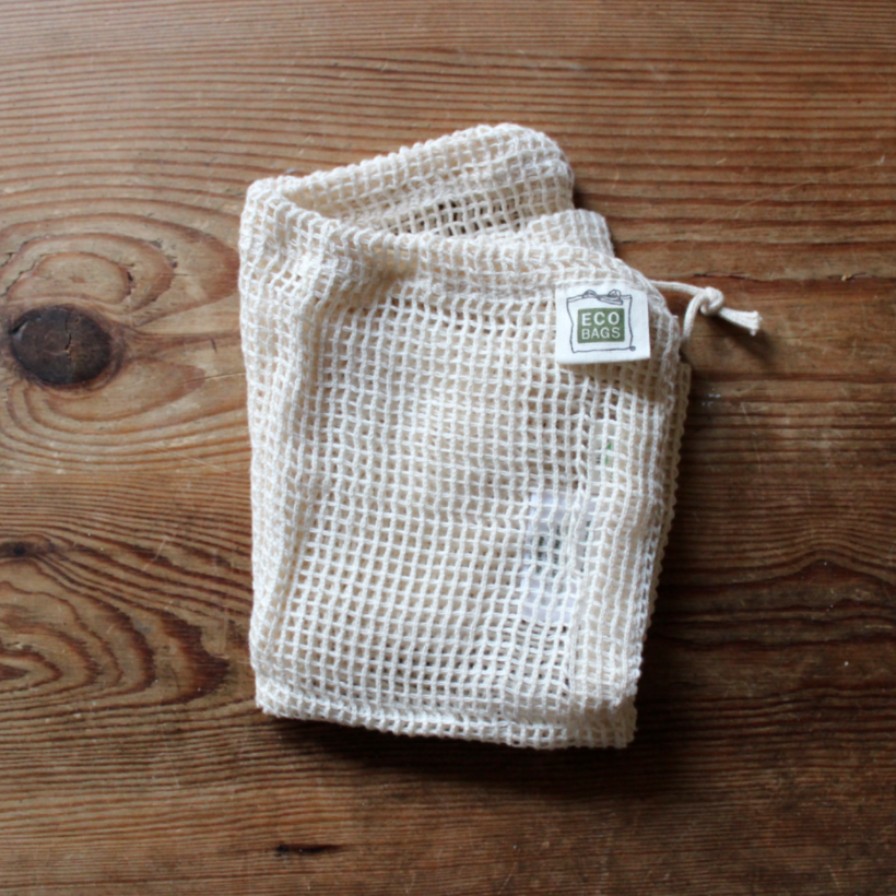 Reusable cloth produce bags from EcoBags | Litterless