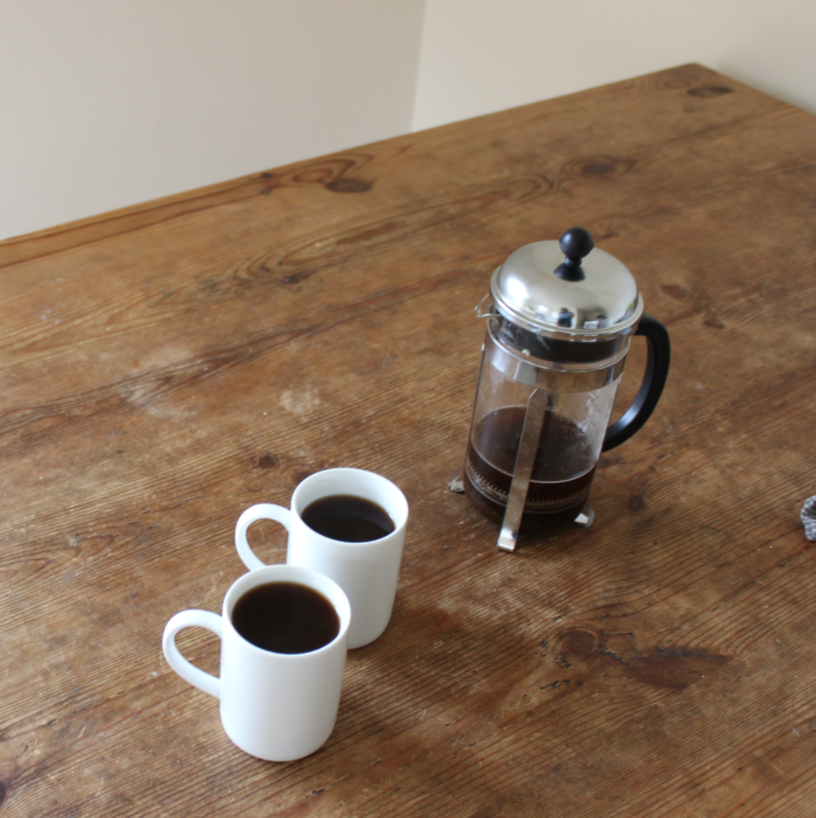 Zero waste coffee and tea using a French Press | Litterless