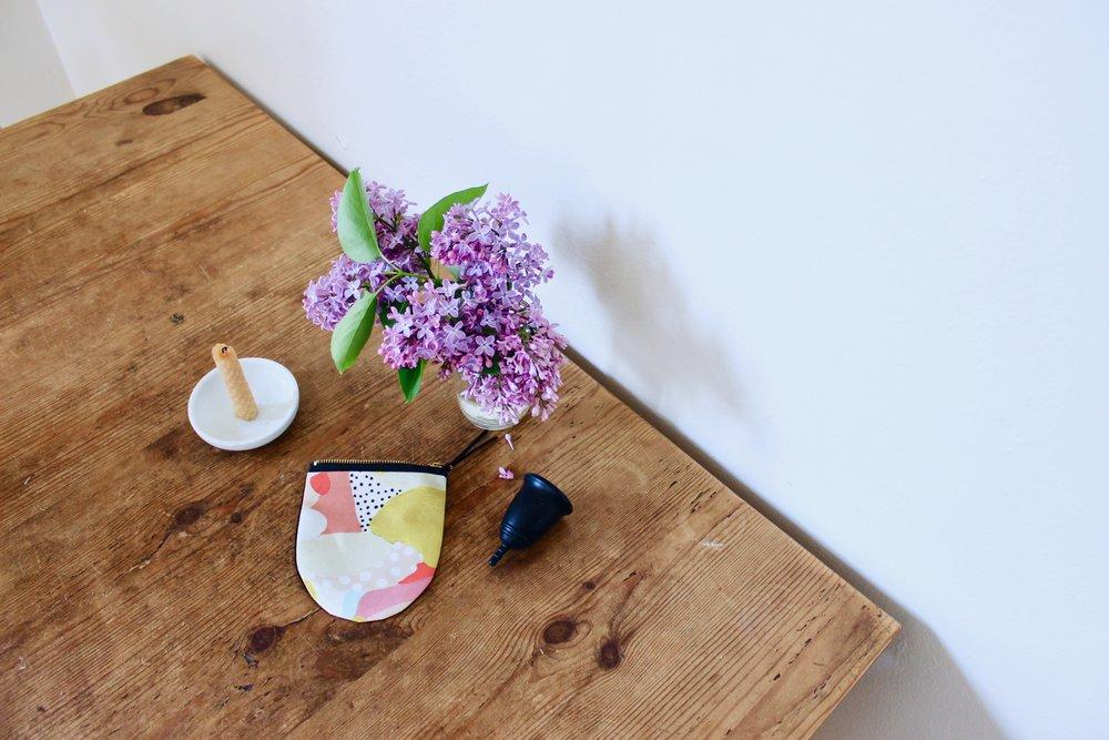 DotCup zero waste menstrual cup | Litterless