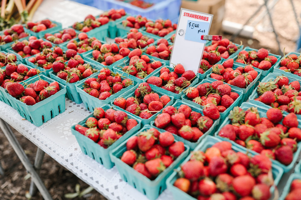 How to buy zero waste berries at the farmers' market | Litterless