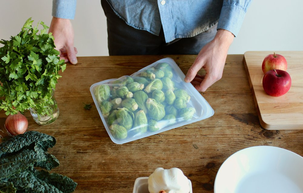 Zero waste, plastic-free food storage options | How to store food without plastic | Litterless
