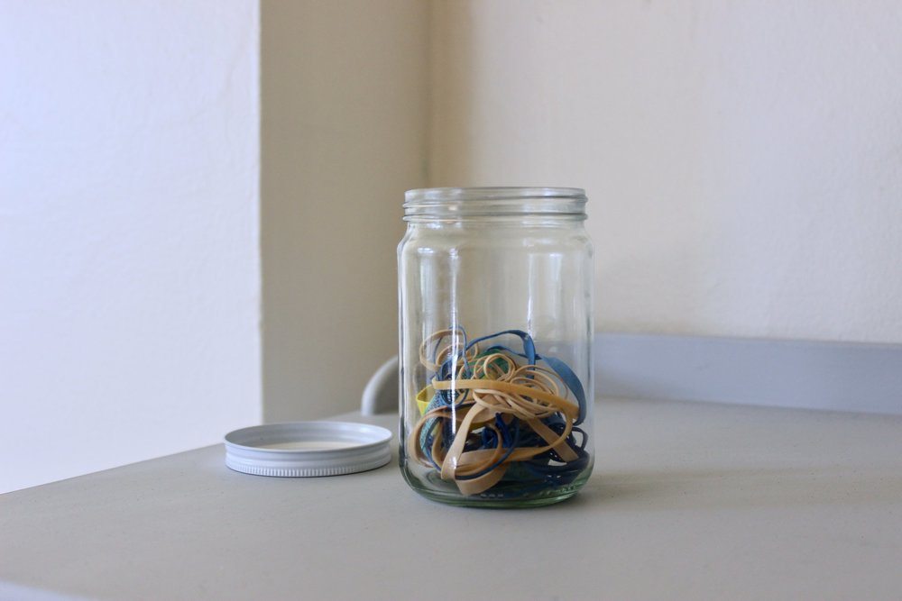 Where to donate rubber bands for a zero waste home | Litterless
