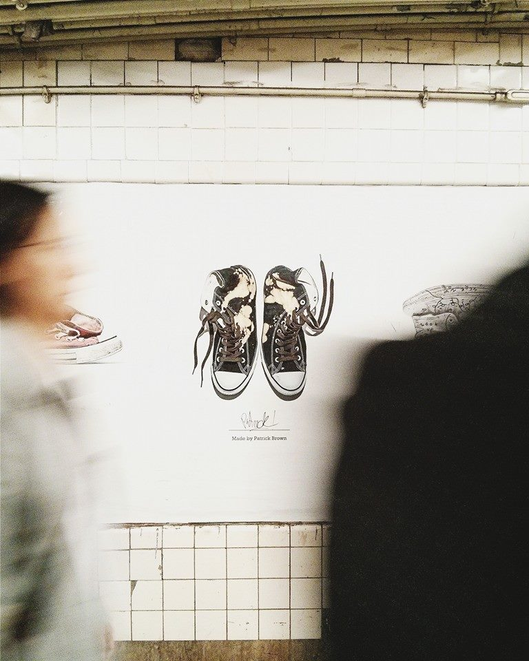 Campaign as seen in the Subway of NYC - Photo by @minusbaby