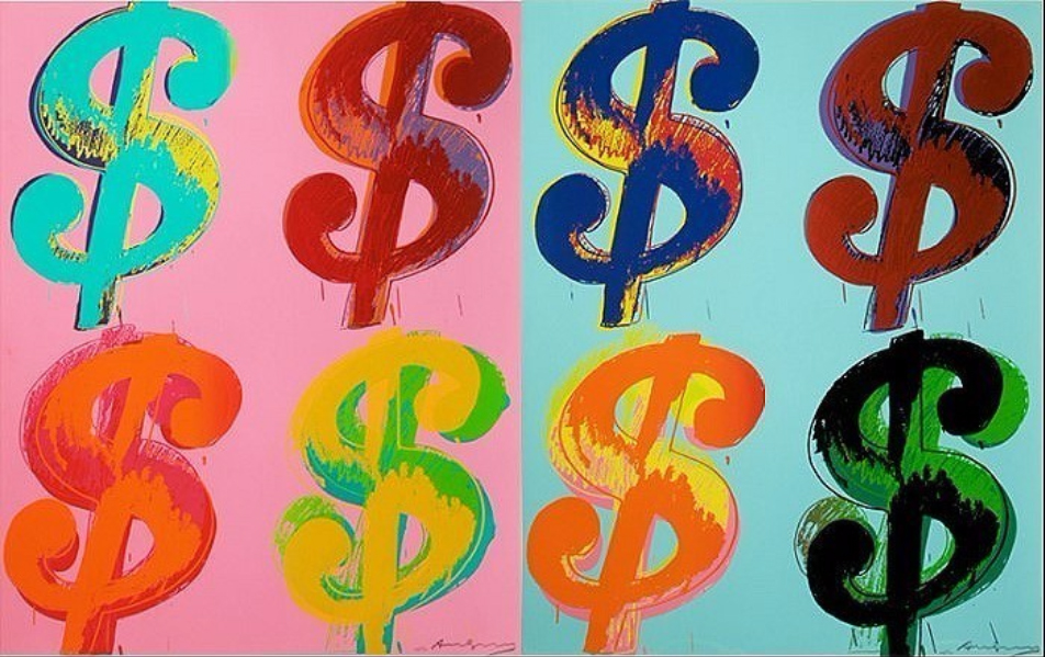 $ by Andy Warhol
