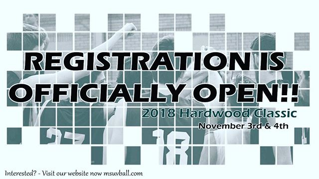 "Registration is officially open for the biggest pre-season tournament ""BACK TO THE HARDWOOD CLASSIC 2018"" visit our website now and fill out the registration form! Link in bio"