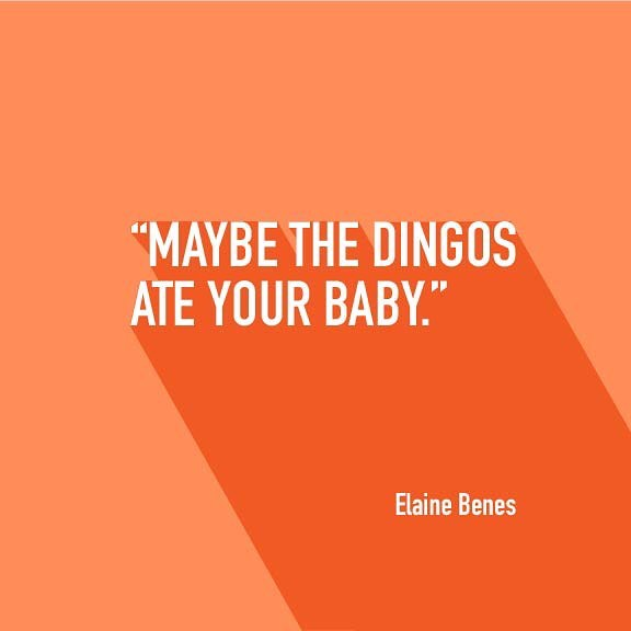 Quote of the day 🤣. #seinfeld #elainebenes #quotes #typography #fonts #design #designer