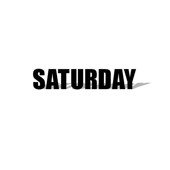SATURDAY 🙌🏼. #typography #fonts #weekend #relax #design #type #designer #saturday