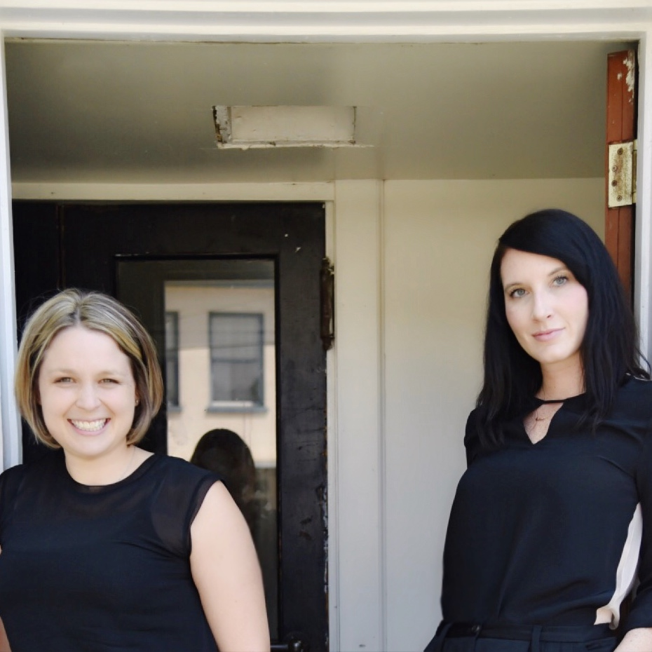 Left to right: Joanna Teplin + Clea Shearer of The Home Edit.