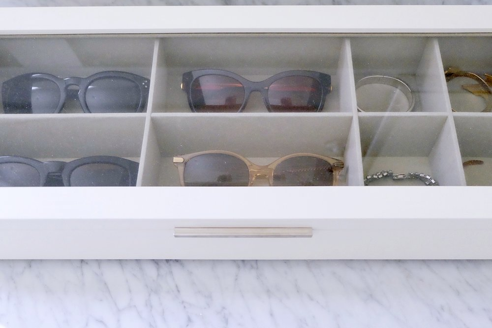 The Frankie Sunglass And Watch Storage Case Gives You Ample Room, And The  Low Profile Design Allows It To Fit Inside Of A Drawer Or On Top Of A  Dresser As A ...