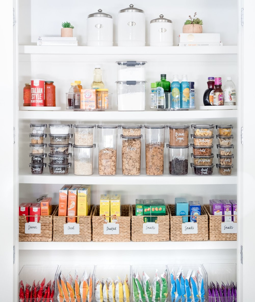 get the look clea s pantry makeover the home edit