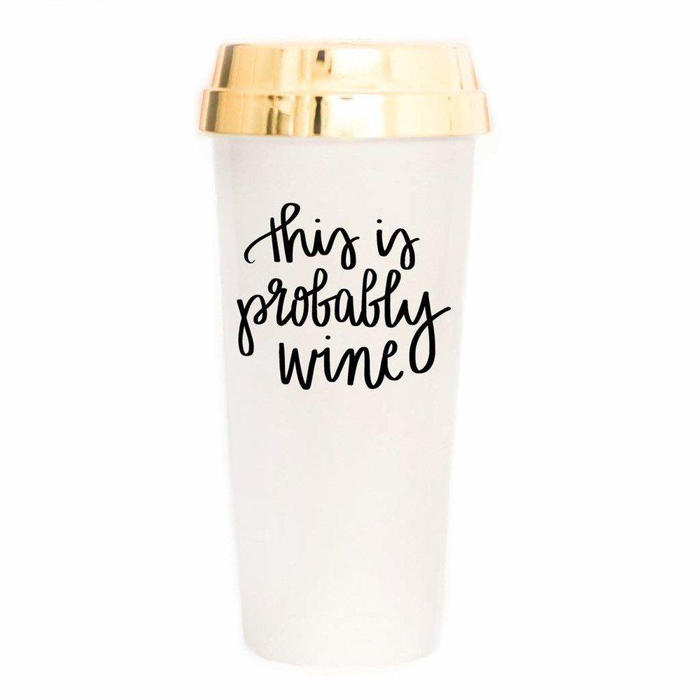 Wine Travel Mug