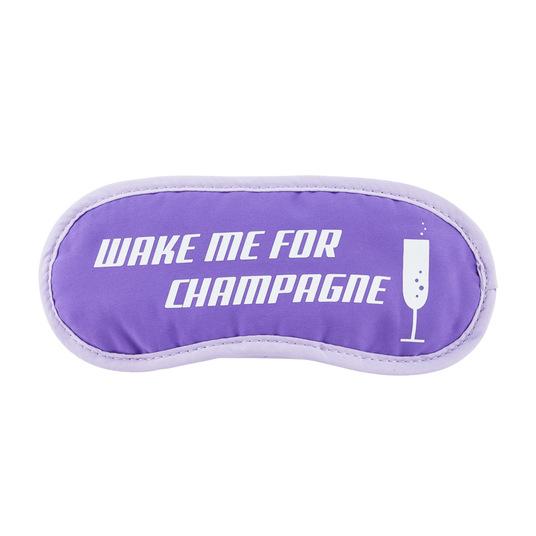Champagne Eye Mask