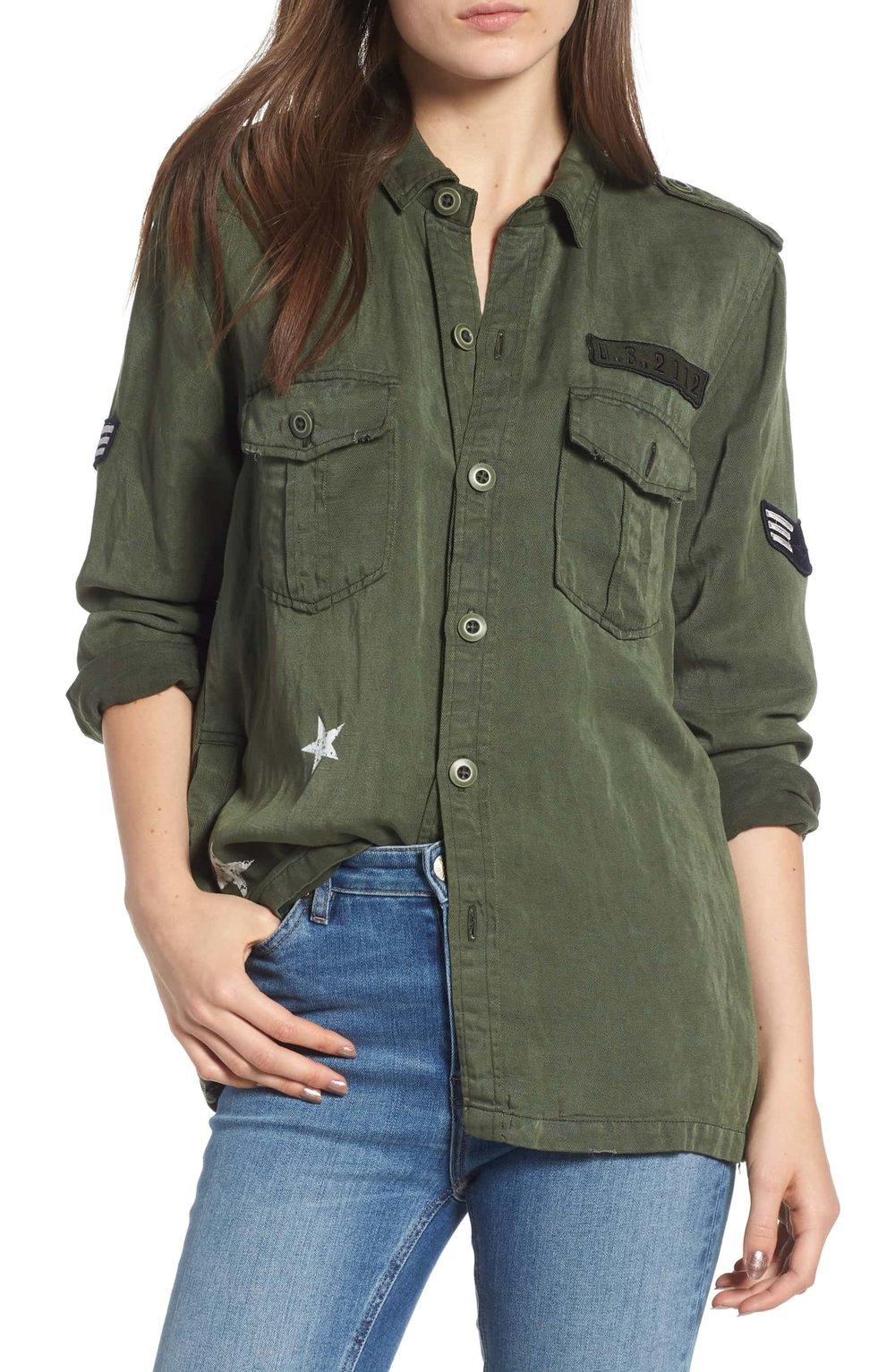 Rails Military Jacket