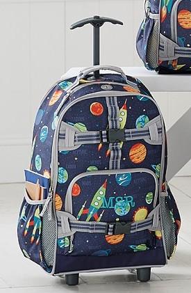 PB Kids Rolling Backpack (Boys)