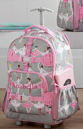 PB Kids Rolling Backpack (Girls)