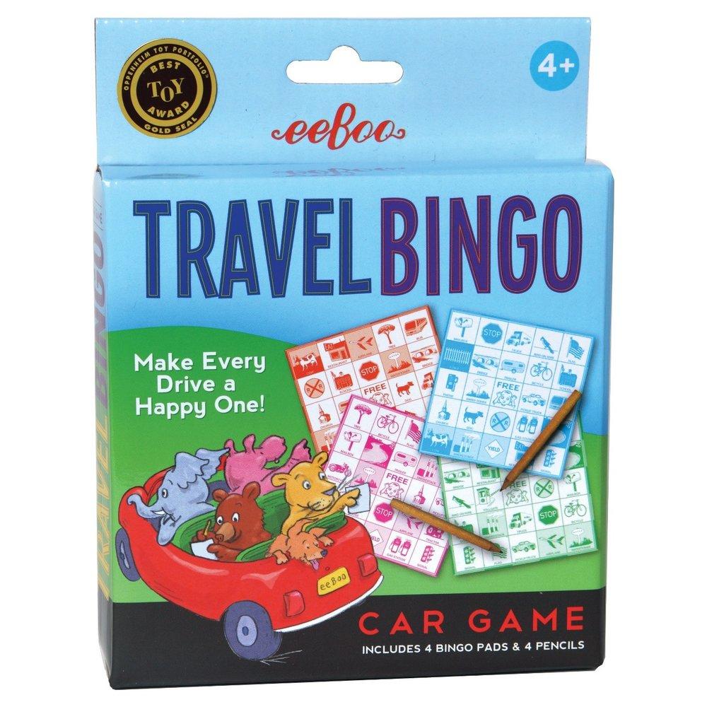 Kids Travel Bingo