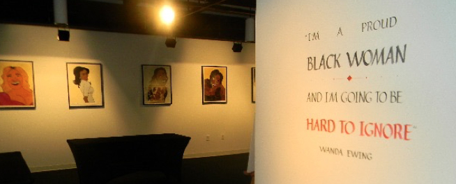 photo of exhibition by JoAnna LeFlore