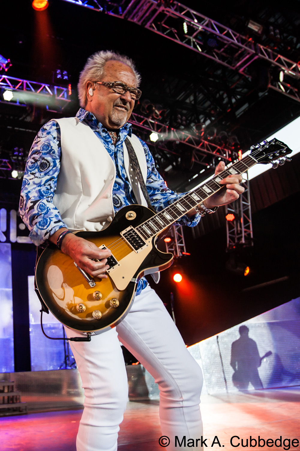 Foreigner guitarist Mick Jones