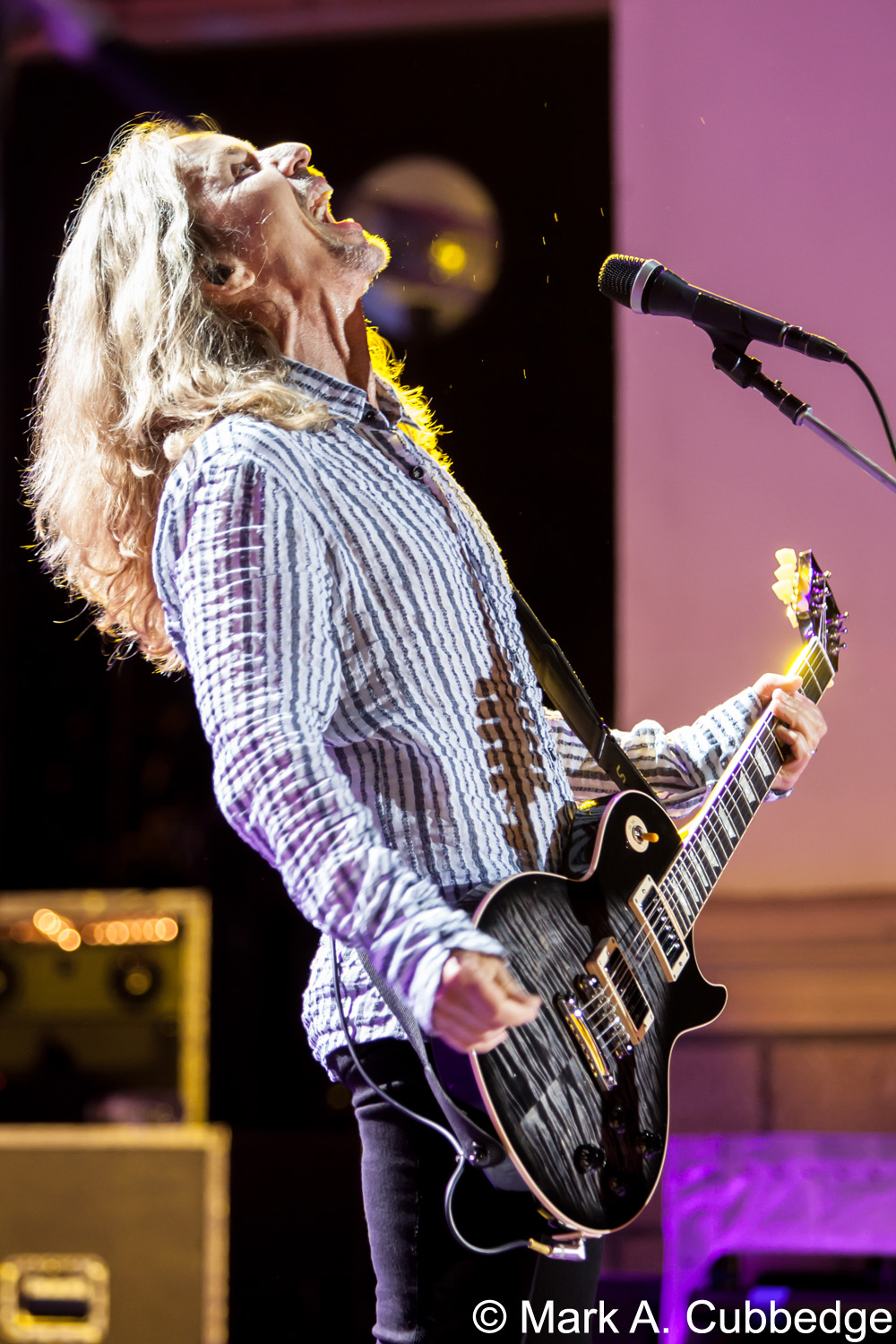 Styx guitarist Tommy Shaw