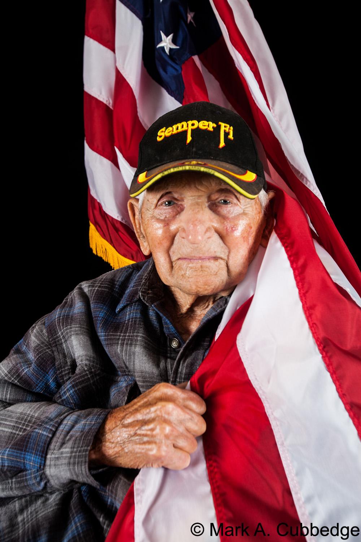 Frank Konopasek, Iwo Jima survivor