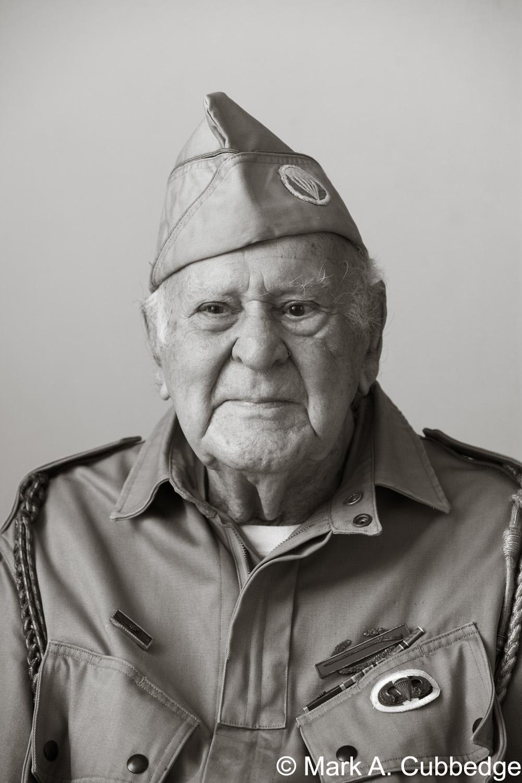 Mario Patruno, D-Day paratrooper