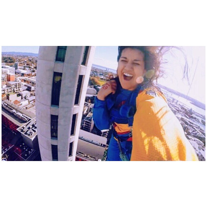 jumping off the auckland sky tower, may 2015