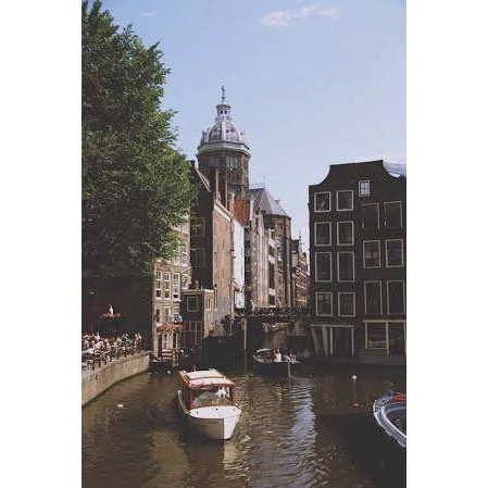 Amsterdam, The Netherlands: one of Alexis' top five destinations she's been to!