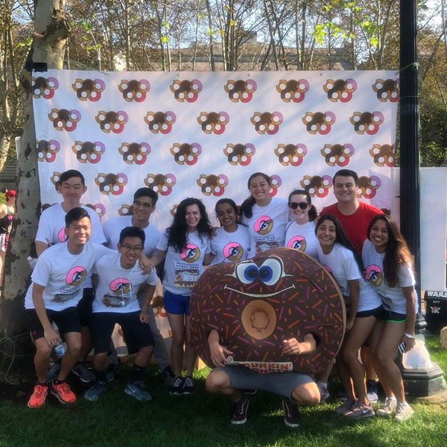 Our brothers had a blast a 🍩 Donut Dash 🍩 today! Shoutouts to our brothers Sean and Jeff for finishing the competitive race!  #cmuakpsi #akpsi #alphakappapsi #donutdash