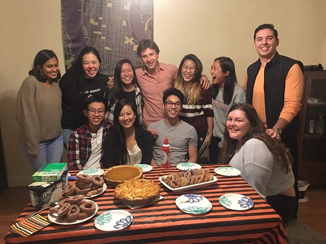 Our brothers had a great time baking pies yesterday! #AKPie #AKPsi #alphakappapsi #cmuakpsi