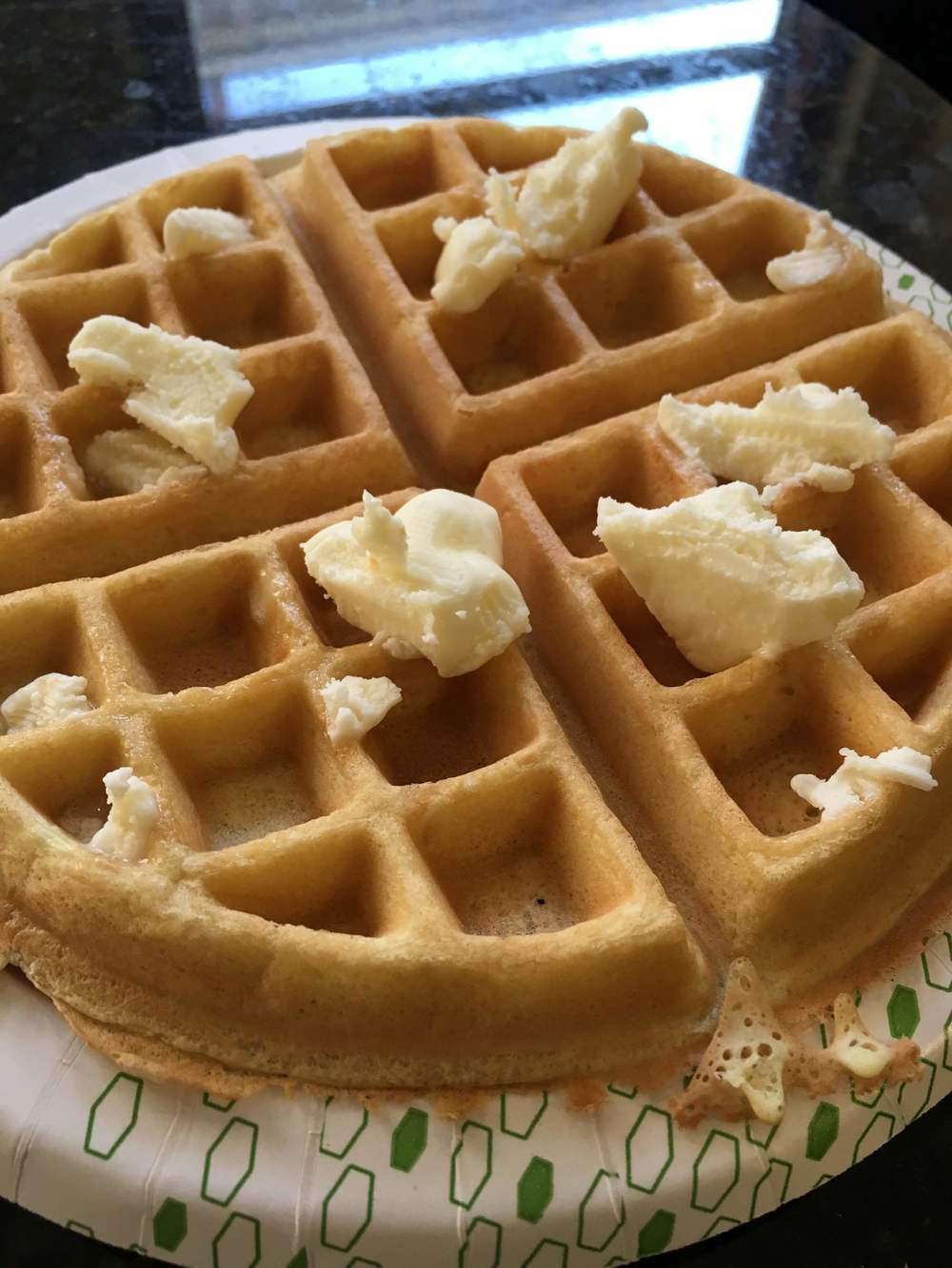 Buttering My Waffle