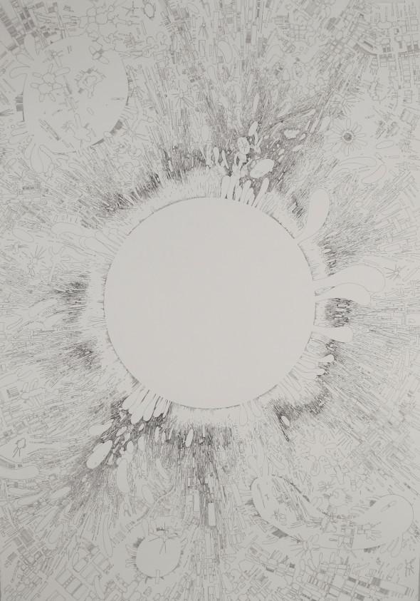 """Heliotrope, 2013, 30"""" x 44"""""""