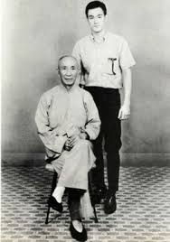 Grandmaster Yip Man and Bruce Lee