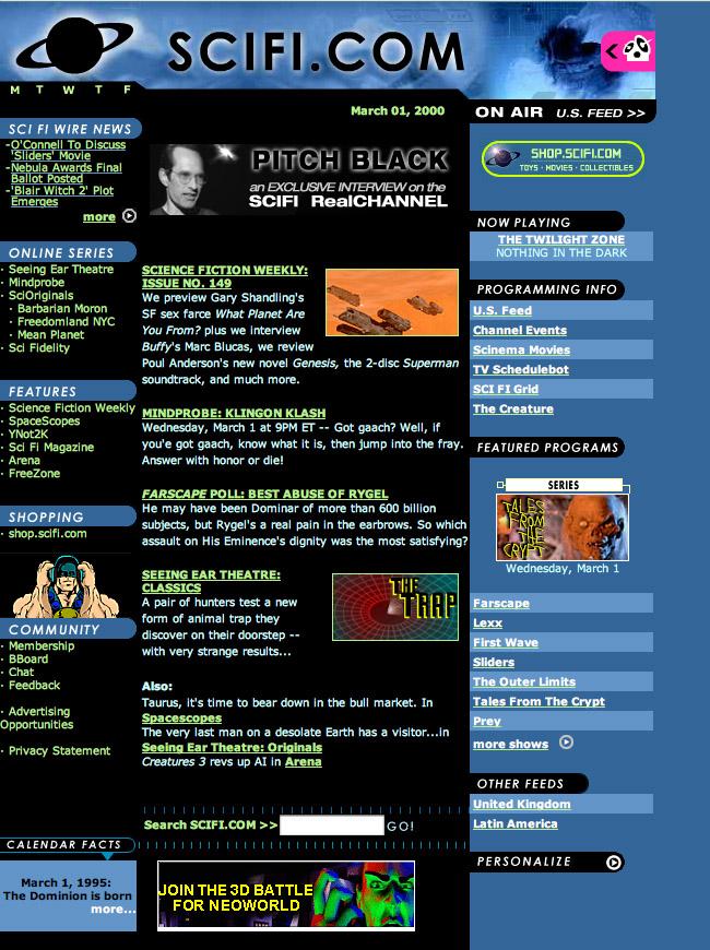 1999: SCIFI.COM