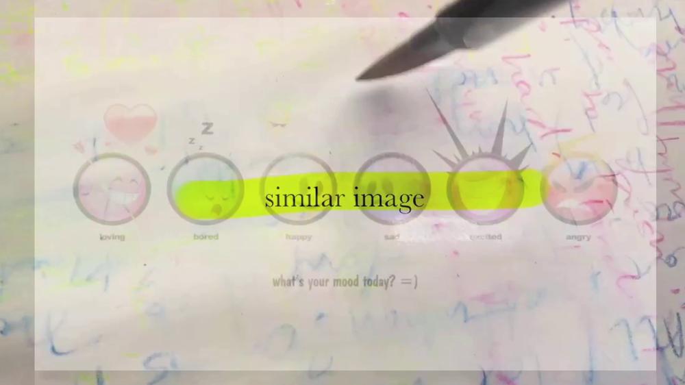 Erica Scourti, Negative Docs, 2016, video, 9 minutes