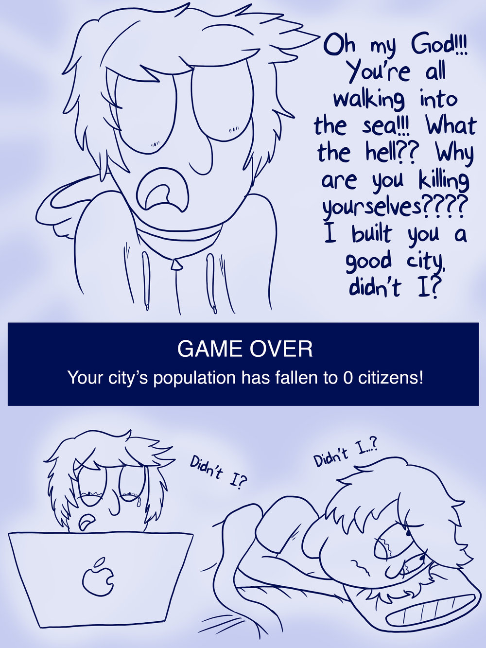 Comic from my time playing  Sim City                             Page 2
