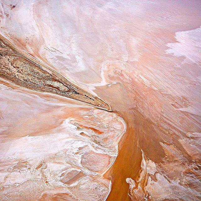 Kati Thanda-Lake Eyre. Australia's largest painting.  #lakeeyre #outback #southaustralia #aerialphotography #canonaustralia #5dsr