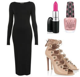 "Photo courtesy of MAC Cosmetics, OPI, Alaïa Channel your inner ""mean girl"" with this pink look."