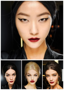 Photo courtesy of Dolce and Gabbana Fall/Winter 2013. Winged liner completes any look.