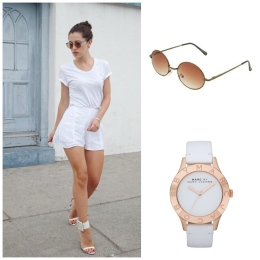 Photo Courtesy of Karla From Karla's Closet , Marc Jacob Watch White Out