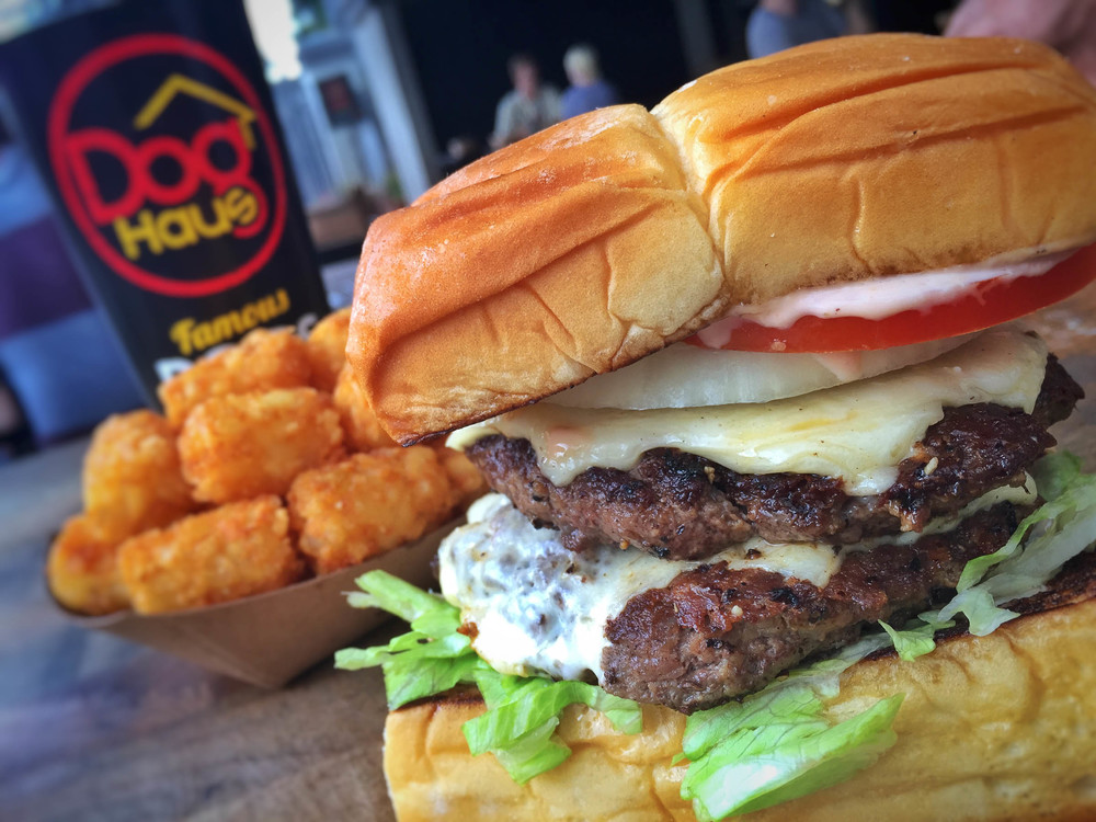 Dog Haus Burger - Photo courtesy of Dog Haus