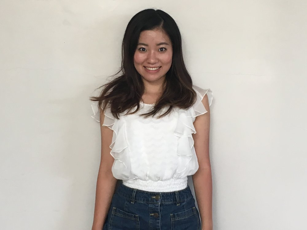 Reina Hoshino, 21, communications major