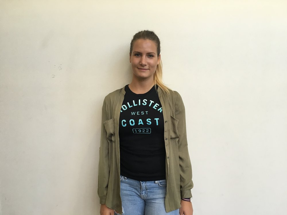 Ayla Dickert, 23, economics major