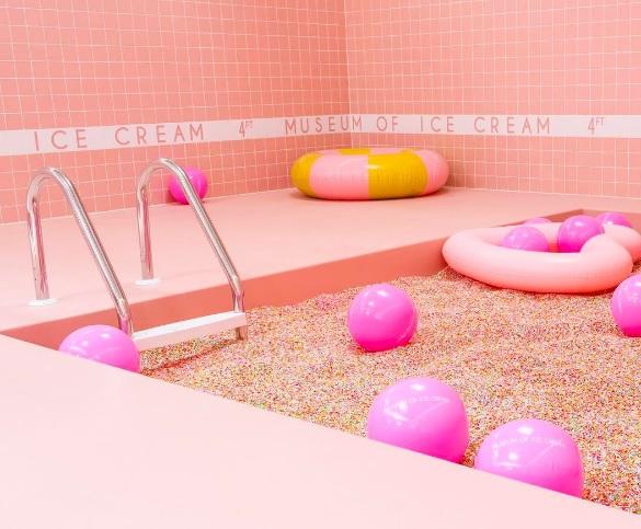 Photo from Museum of Ice Cream's Instagram