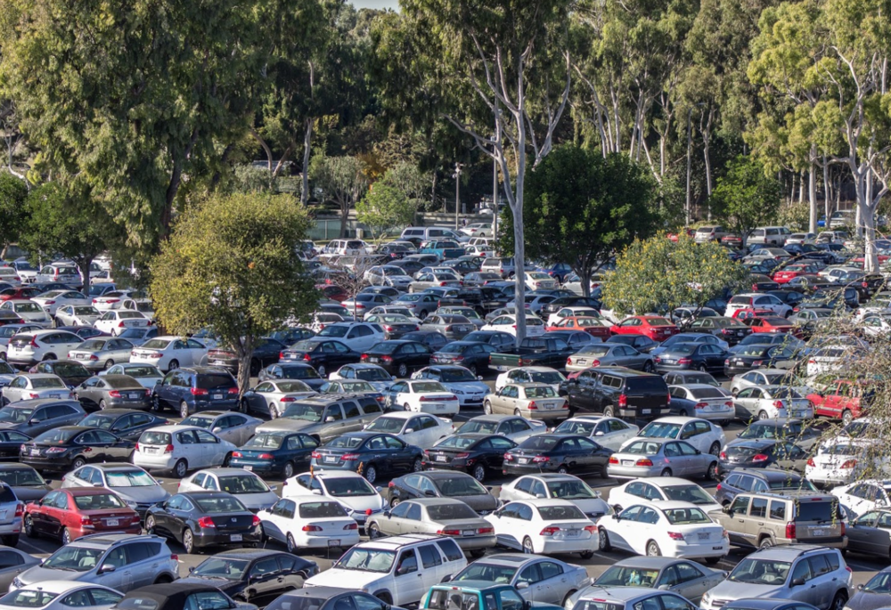 CSULB parking stock photo