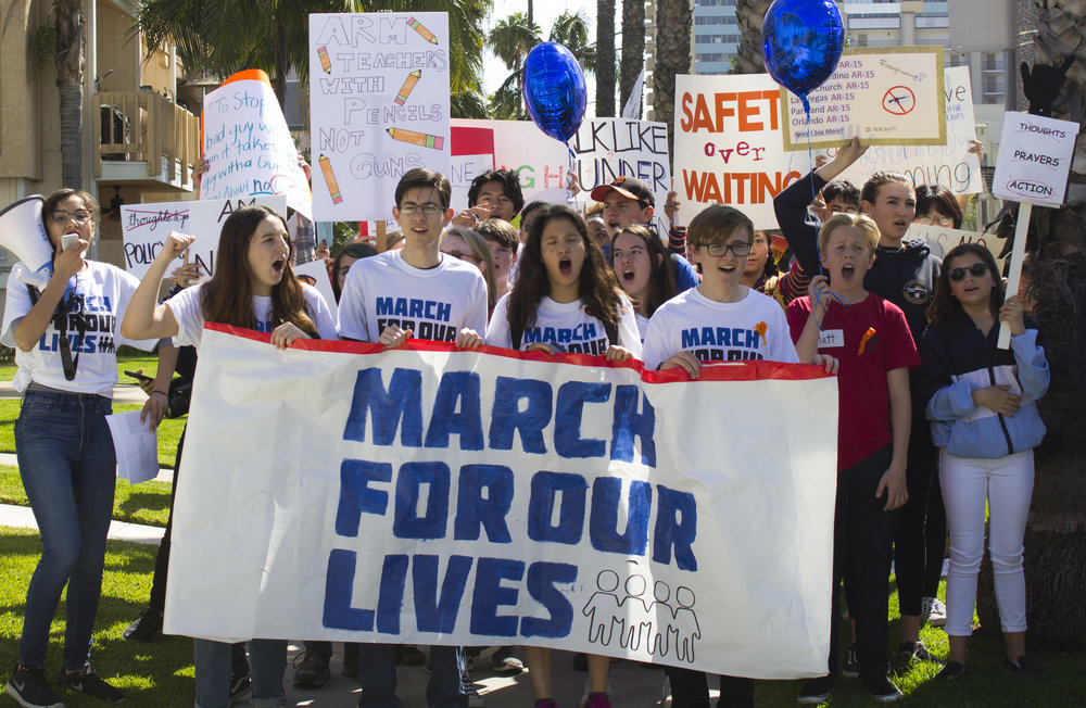 This Is What Democracy Looks Like And >> This Is What Democracy Looks Like March For Our Lives In Long