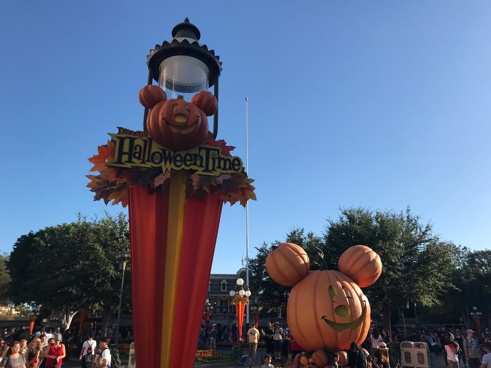 Halloween has officially arrived at the Disneyland Resort.  Photo Credit: Zachary Anderson-Yoxsimer