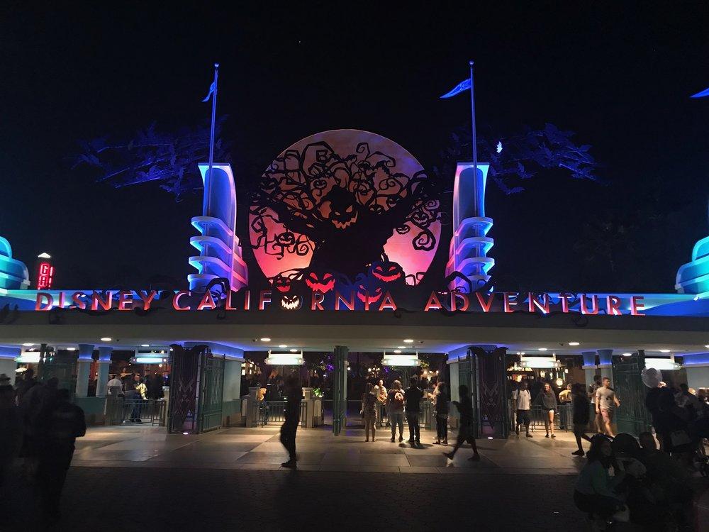 Entrance of Disney California Adventure  Photo Credit: Zachary Anderson-Yoxsimer