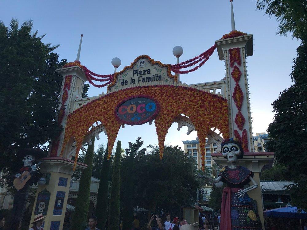 Coco's Corner entrance at Disney California Adventure  Photo Credit: Zachary Anderson-Yoxsimer