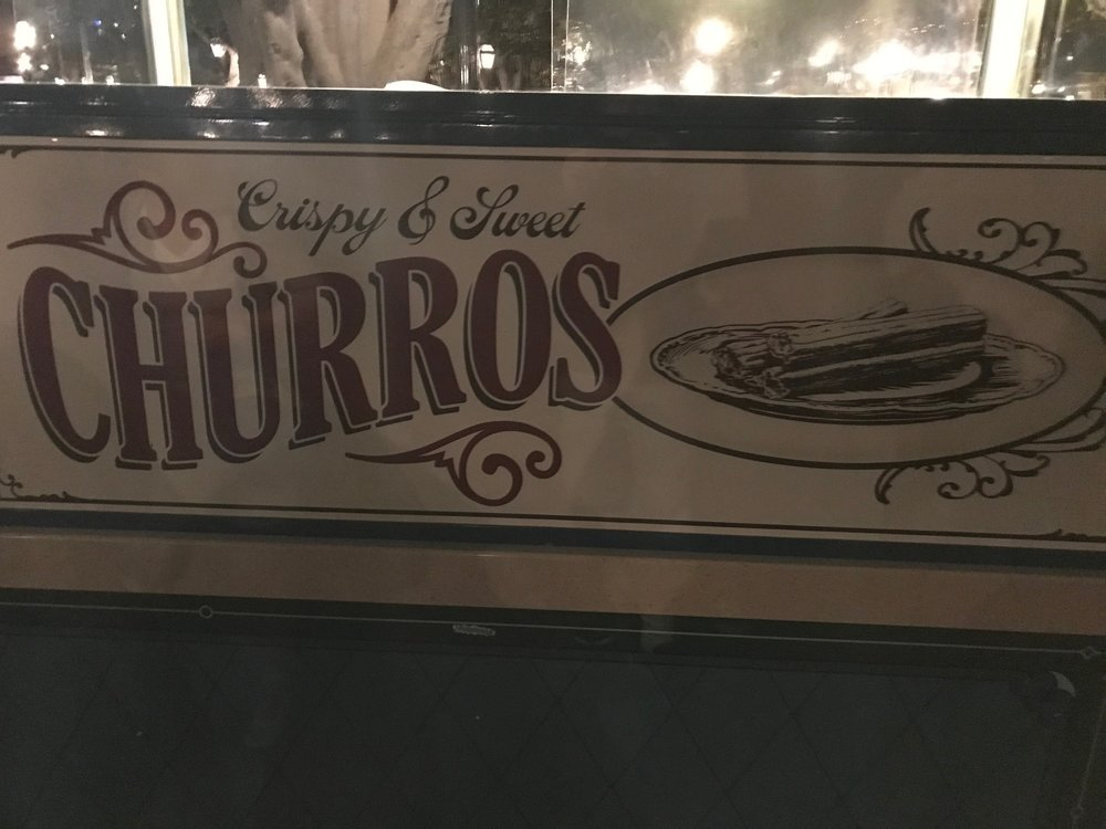 One of the many and worthwhile churro stands.  Photo Credit: Zachary Anderson-Yoxsimer