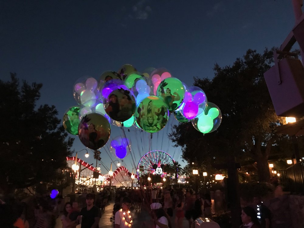 The coveted Halloweens floating over Disney parks.  Photo Credit: Zachary Anderson-Yoxsimer